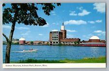 Boston Massachusetts MA Museum Of Science Hayden Planetarium Postcard 1960s