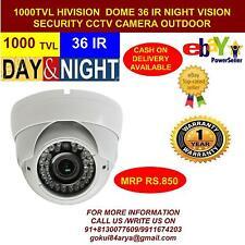 HiVision 360 Degree CCTV CAMERA 1000 TVL DOME DAY/NIGHT VISION 5