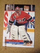 1992 93 Pro-Set Award Winners #  2 Patrick Roy - Caandiens Goalie of the Year  X
