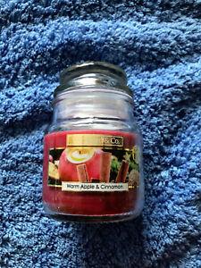 Wickford & Co 5oz Warm Apple & Cinnamon mini jar Candle - FREE POSTAGE