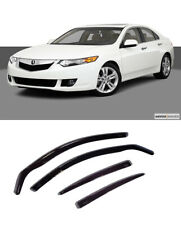 FOR ACURA TSX 2008-14 WINDOW VISORS SUN RAIN GUARD WIND DEFLECTORS WINDOW