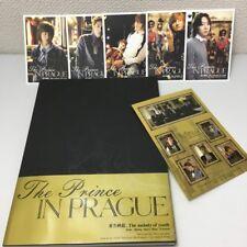 TOHOSHINKI TVXQ Dong Bang Shin Ki Photo Book The Prince IN PRAGUE Sticker w/OBI