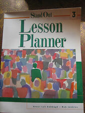 Stand out 3 : Lesson Planner with CD (2002)