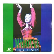 LaserDisc Madonna Ciao Italia Live From Italy