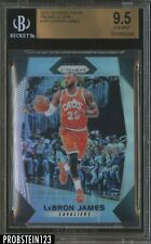 2017-18 Panini Silver Prizm #191 Lebron James BGS 9.5 GEM MINT