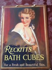 Reckitts bain Cubes Poster Taille environ 45 cm x 30 cm