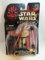 Star Wars Episode I Sith Accessory Set w Firing Backpack & Droid Miss MOC SEALED
