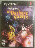 Neopets  The Darkest Faerie( PlayStation 2  2005) new factory sealed ps2