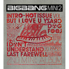 BIGBANG [HOT ISSUE] 2nd Mini Album CD+Photobook K-POP SEALED YG