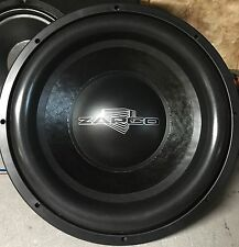 "Zapco Custom PSI Platform 3 15"" competition subwoofer,Rare,USA,Dual 2 Ohm"