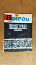 SPIROU N°1516 DU 4 MAI 1967 / AVEC MINI RECIT PAR NOEL BISSOT / B.