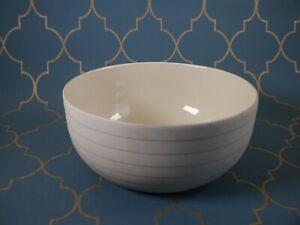 Hornsea Pottery Concept Swan Lake Cream Serving/Salad Bowl