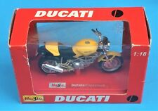 DUCATI MONSTER MODEL 1/18 SCALE OFFICIAL DUCATI SOME DAMAGE TO BOX