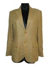 Womens Ralph Lauren Vtg Black Label 100% Linen Blazer Jacket sz 6