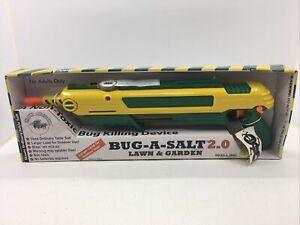 Bug-A-Salt 2.0 Salt Gun Fly Bug Pest Eliminator *BRAND NEW IN BOX*