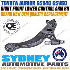 RIGHT Toyota Aurion GSV40 GSV50 3.5L 2005-2015 Lower Control Arm with Bush RH