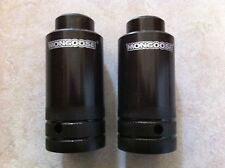 "MONGOOSE THREADED OVERSIZED FREESTYLE PEGS 3/8"" x 26T LOWRIDER CRUISER BMX NEW!"