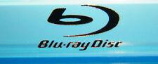 1 x Bluray Disc Silver Logo 15 mm x 7 mm CD Rom DVD Player PS4 Xbox 360