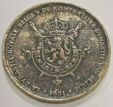 MEDAL MEDAILLE La dynastie royale belge Baudouin 60 ans 1993