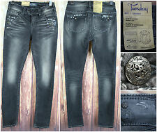 Silver Jeans Tuesday Mid Skinny Studded Pants Size 27 Straight Leg $102 Retail