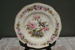 Vintage Wedgwood England Canterbury Large Dinner Plate -  Pheasant - Gc