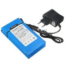 12V 9800mAh Super Powerful Rechargeable Portable Li-ion Battery With EU Plug