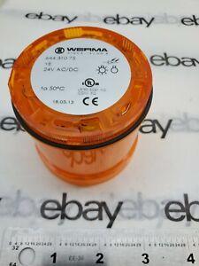 Werma Safety Light 64431075 647205 Yellow 24 VAC/DC
