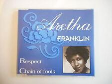 ARETHA FRANKLIN promo : RESPECT - CHAIN OF FOOLS [ CD-MAXI PORT GRATUIT ]