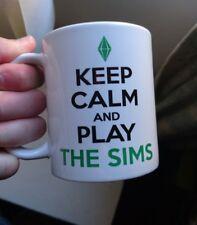 Keep Calm and Play The Sims Mug Gift Birthday Geek Nerd Gaming 11oz the Sims 2