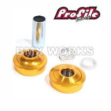 Profile Bottom Bracket Set Gold American Size - Old School BMX