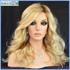 LONGING FOR LONG MONOTOP LACE FRONT Wig *COLOR SS1524 SEXY ROOTED BLOND