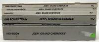 OEM 1999 Jeep Grand Cherokee WJ Diagnostic Procedures Service Manual Set