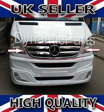 Mercedes Benz Sprinter W906 Chrome Front Grill Trim Cover 4pcs S.Steel