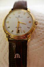 Maurice Lacroix 23293 vergoldet Armbanduhr für Herren waterresistant