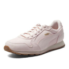 PUMA Womens St Runner CV Light Pink Adults Trainers Ladies Canvas Running Shoes