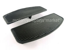 Motorcycle Front Rubber Rider Insert Footboards Footpeg Footrest Pad For Harley
