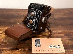 Rolleiflex Rollei Synchro-Compur Franke & Heidecke Germany Xenar 3,5 /75 Camera!