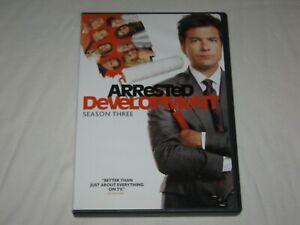 Arrested Development - Season 3 - 2 Disc - Region 1 - VGC - DVD