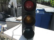 Econolite Traffic Street Light Signal Original With Shades