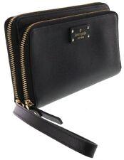 NWT Kate Spade Anita Grove Street black clutch/wallet