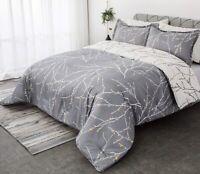 Comforter Down Alt Set 3 Pieces Ultra Soft Warm Hypoallergenic Twin Queen King