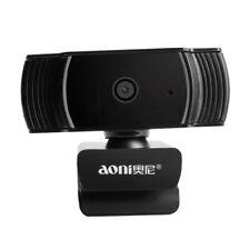 Webcam 1080P 30FPS HD Auto Focus USB Computer Web Camera Sound Absorption Mic