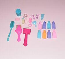 Barbie accesorios Baby accessoirs 80er 90er años vintage sonajero polvera niños a