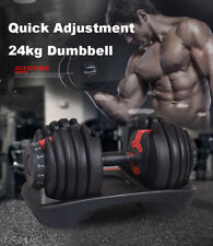 24kg Adjustable Dumbbell Home GYM Exercise Equipment Weight Fitness -PRESALE