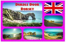 DURDLE DOOR, DORSET, UK - SOUVENIR NOVELTY FRIDGE MAGNET - BRAND NEW - GIFT