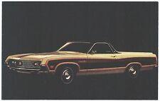 1970 Ford RANCHERO SQUIRE Original Vintage NOS Dealer Promo Postcard UNUSED Ex ^