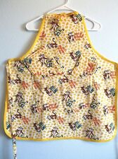 New listing Chef Style Adult Apron Oven Mitt Pot Holders Tony The Tiger Yellow Black