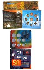 Konvolut EURO KMS Folder Belgien + Finnland + Spanien 2003 - leer - ohne Münzen