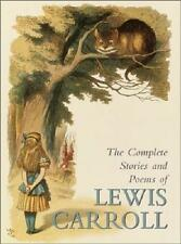 LEWIS CARROLL COMPLETE STORIES & POEMS ~ TENNIEL Alice Wonderland Looking Glass