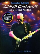 2 DVD SET DAVID GILMOUR REMEMBER THAT NIGHT SEALED NEW